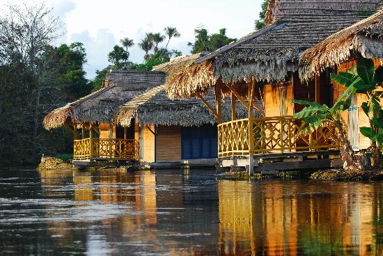 State of Amazonas: Pousada Uacarí in Mamiraua