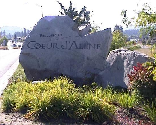 Coeur d'Alene, Айдахо: Ortsanfang CDA