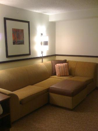 Hyatt Place Baton Rouge/I-10: There is a large sitting area