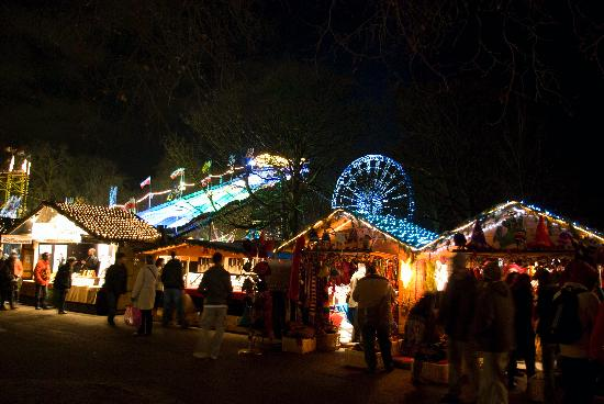christmas in london parks
