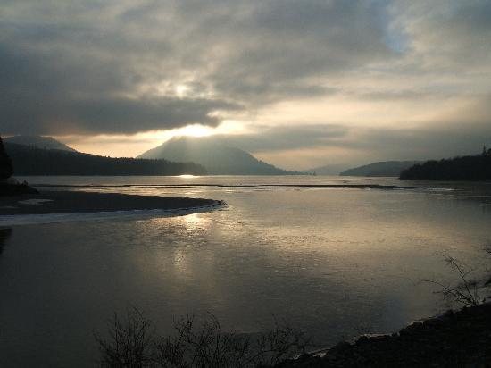 Rannoch Moor: Silver Sunset