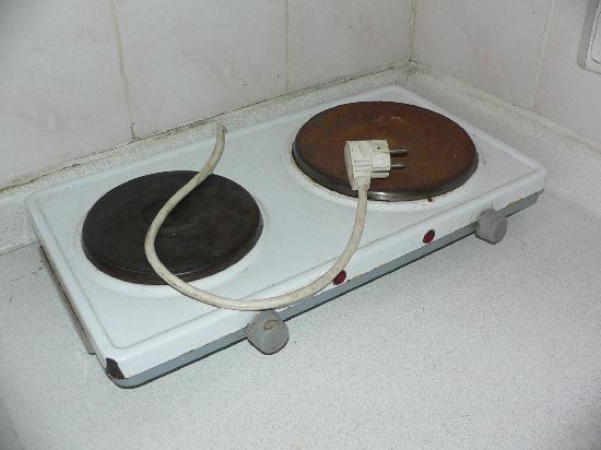 Yorkshire Apart Hotel: The only cooking equipment