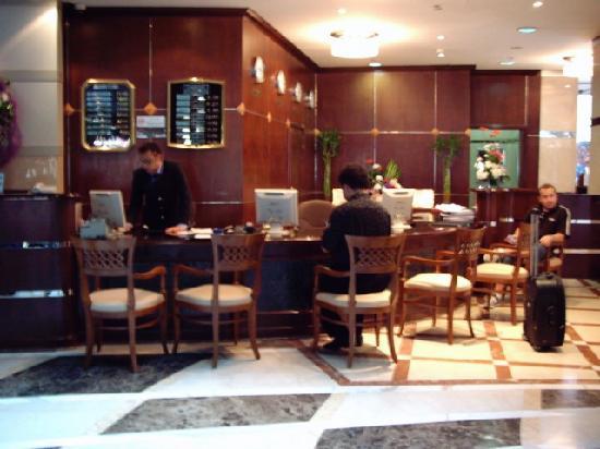 Dubai Concorde Residence Hotel: reception