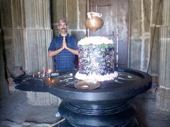 Shivling at Shiv Mandir in Kumbhalgarh Fort