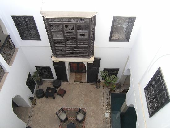 Riad Asma: the patio