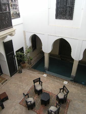 Riad Asma: the swimming pool