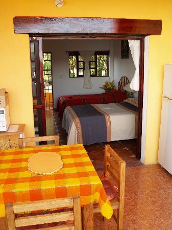 Casa Adriana: View from Balcony to room