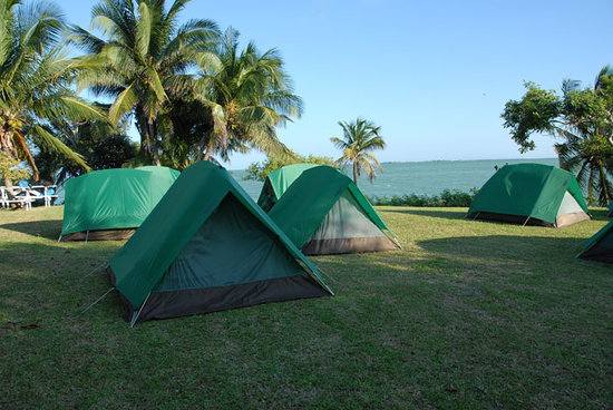 Bacalar Chico National Park and Marine Reserve: Accommodations at San Juan
