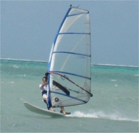 San Pedro, Belize: Massimo sul Windsurf