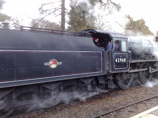Kidderminster, UK: Severn valley railway