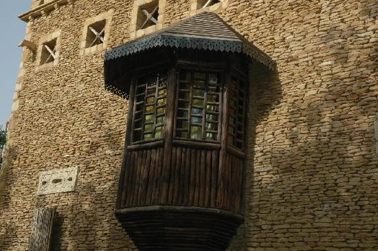 Assaha: balcone