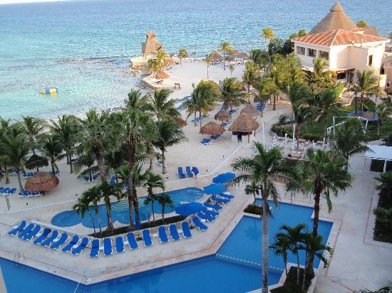 Dreams Puerto Aventuras Resort & Spa: our oceanfront view