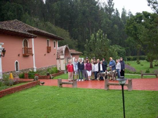 Posada del Puruay: group shot