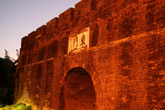 Kenting National Park: East Gate at Old Hengchun village