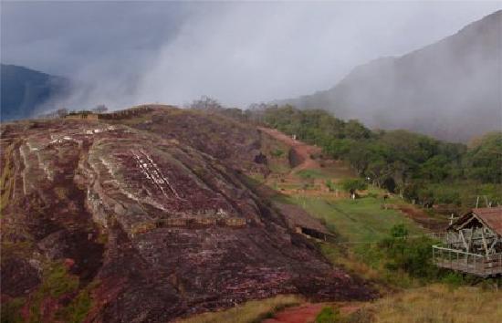 Bolivia: El Fuerte ruins