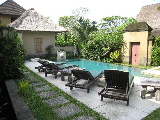 โรงแรมวากา นัมยา: Our private pool!