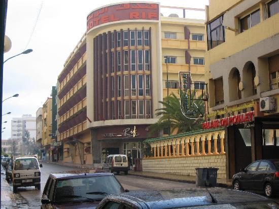 Hotel Rif: vue de l'exterieur