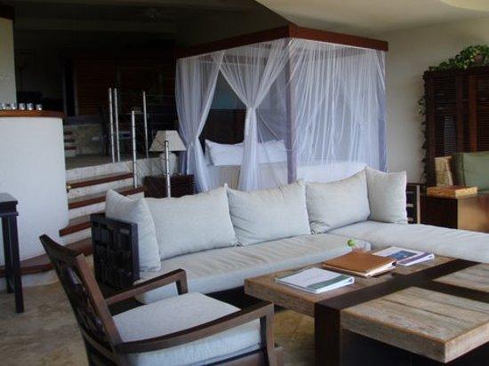 Jade Mountain Resort: bedroom JF6  cheapest room best room is JD1