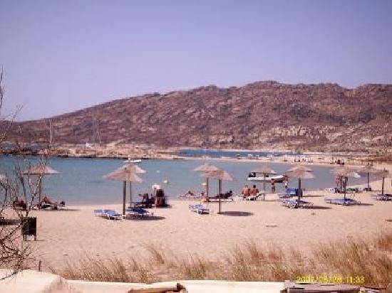 Hotel Ios Plage: La plage ! ! !