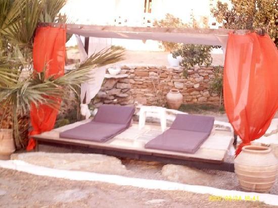 Hotel Ios Plage: Un coin tres paisible situé a l'hotel