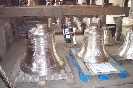 Villedieu-les-Poêles, France : visite de la fonderie de cloches