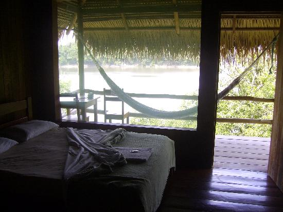 Juma Amazon Lodge: Vista dalla camera da letto