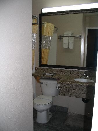 Days Inn Mission Valley Qualcomm Stadium/ SDSU: Bathroom