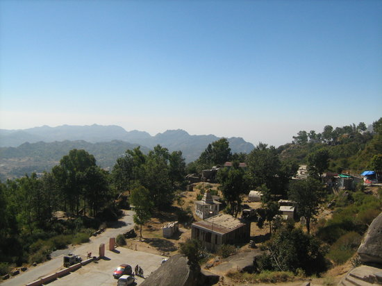 Mount Abu, Índia: View from Gurushikhar - II