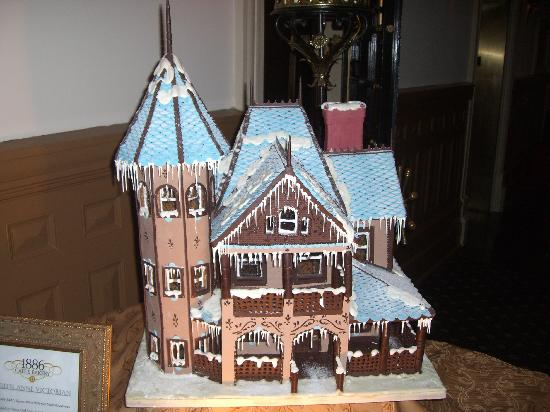 Image result for Gingerbread Victorian House