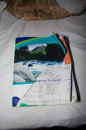 Grand View Inn and Suites: phone book