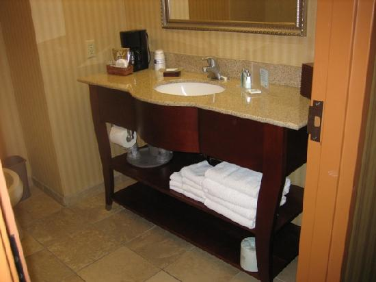 Hampton Inn & Suites Albuquerque - Coors Road: The vanity