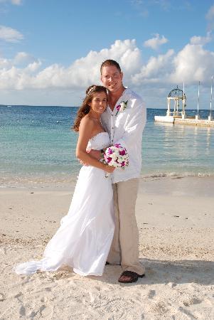 Sandals Montego Bay Wedding Day