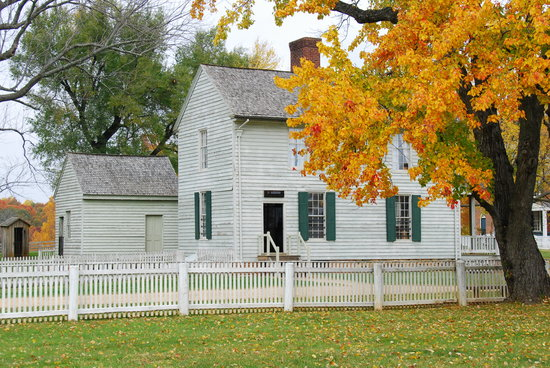 Appomattox, เวอร์จิเนีย: General store at the Surrender Grounds National Park