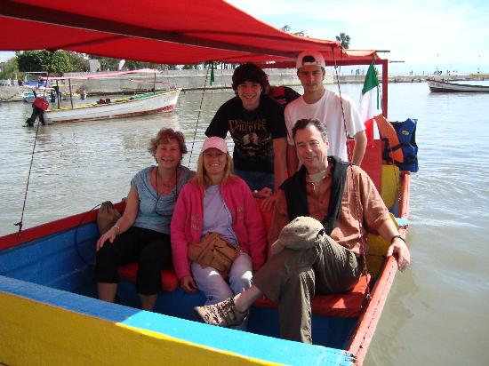 Lake Chapala: The gang headed out to Scorpion Island