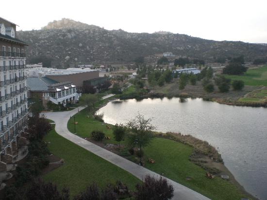 Barona Resort & Casino: View looking west from a room