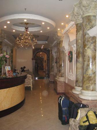 Hanoi City Palace Hotel : wonderful surroundings