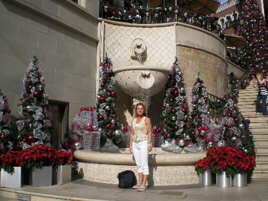 The Beverly Hilton: me at Rodeo drive