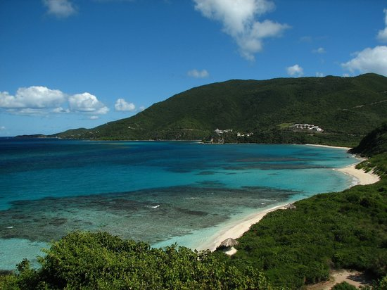Virgem Gorda: Beautiful Savanah Bay