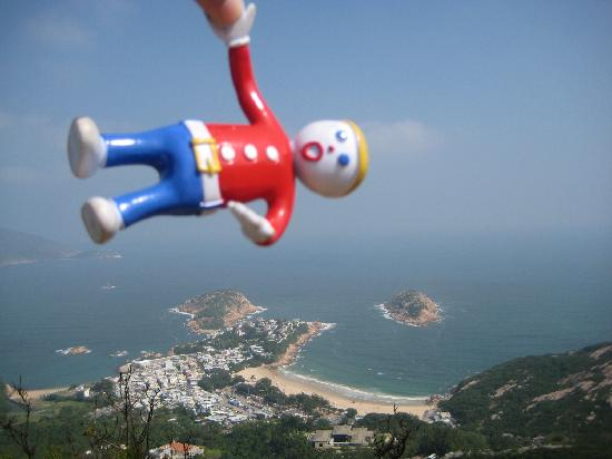 Mr. Bill was a cliffhanger at the dragon's back