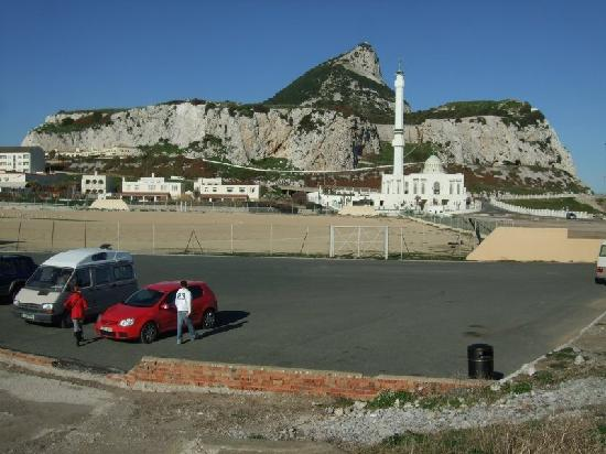 Europa Point: The mosque & the rock