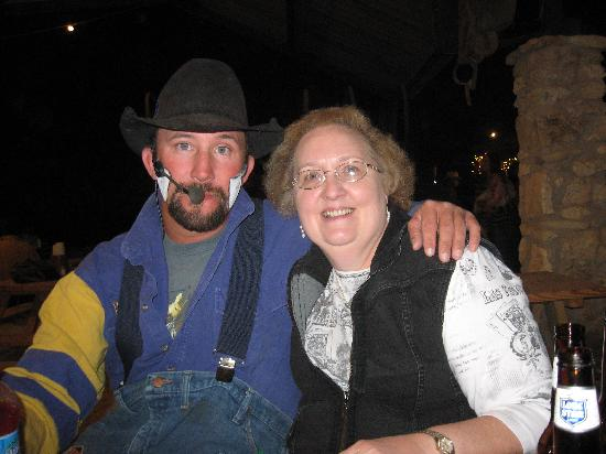 Tejas Rodeo Company: Granny and the rodeo clown