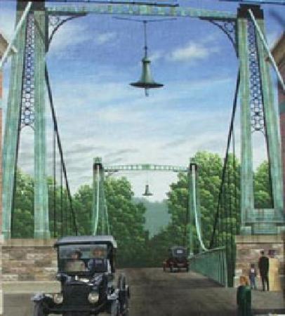 Franklin, Ohio calls itself the City of Murals