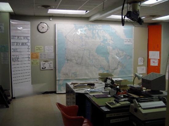 Diefenbunker: Canada's Cold War Museum: Situation Room