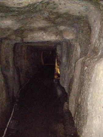 Iwami-Ginzan Silver Mine: One of the tunnels of Iwami silver mine