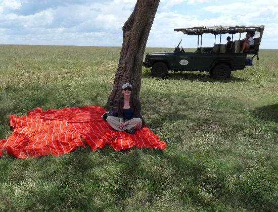 Siana Springs: Lunchtime Picnic in The Mara