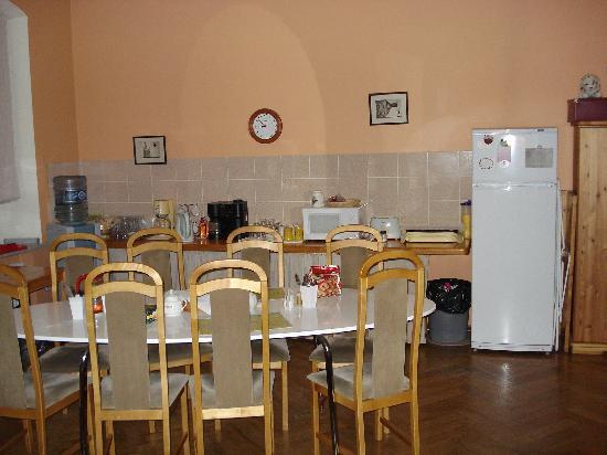 Randhouse Bed & Breakfast Sennaya : Breakfast room