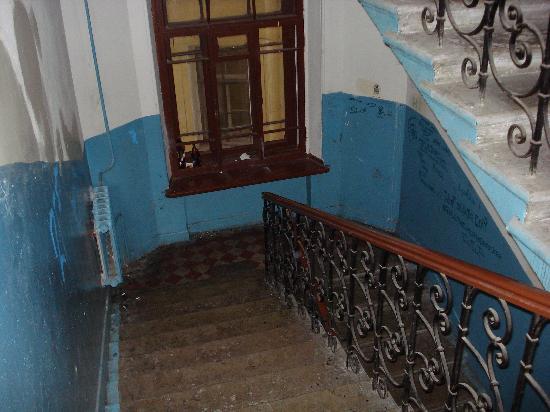 Randhouse Bed & Breakfast Sennaya : Stairway to heaven?