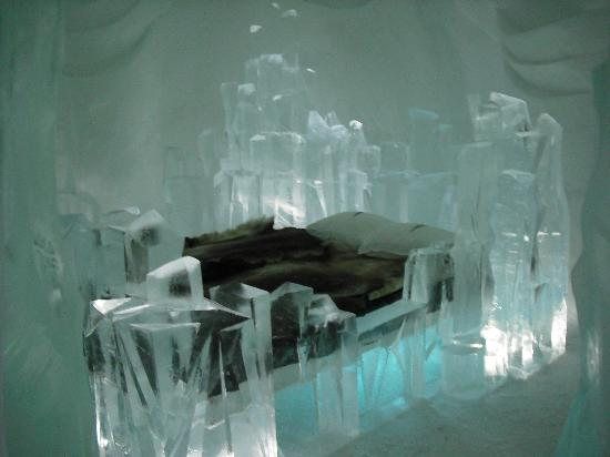 "Icehotel: Our ""Room"" for the night"