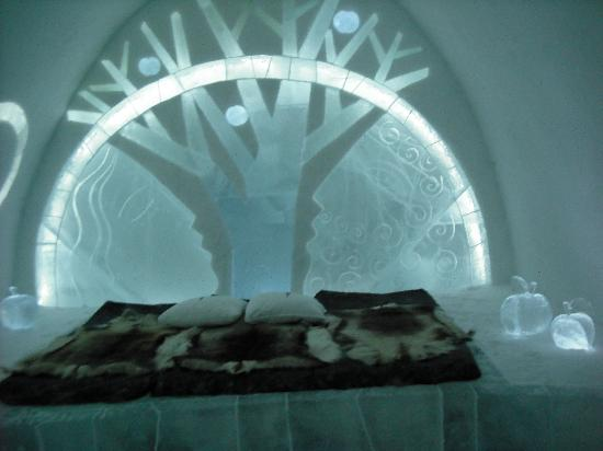 Icehotel: Art Suite