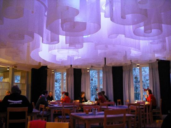 Icehotel: restaurant